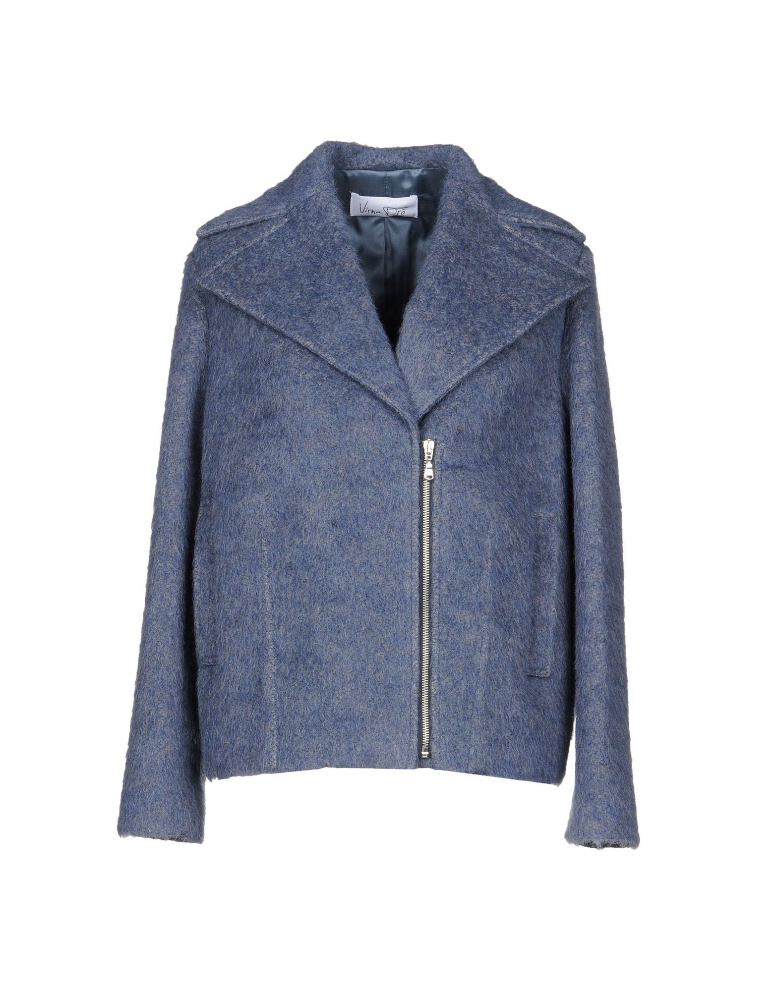 VIRNA DRÒ® Пальто недорго, оригинальная цена