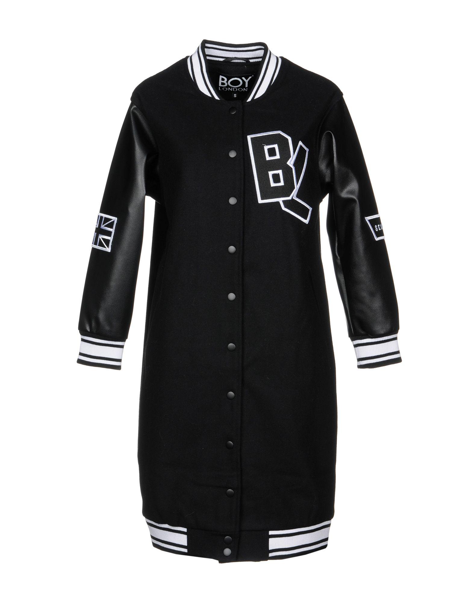 BOY LONDON Coat in Black