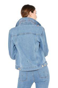 ALBERTA FERRETTI Denim jacket Denim outerwear Woman a