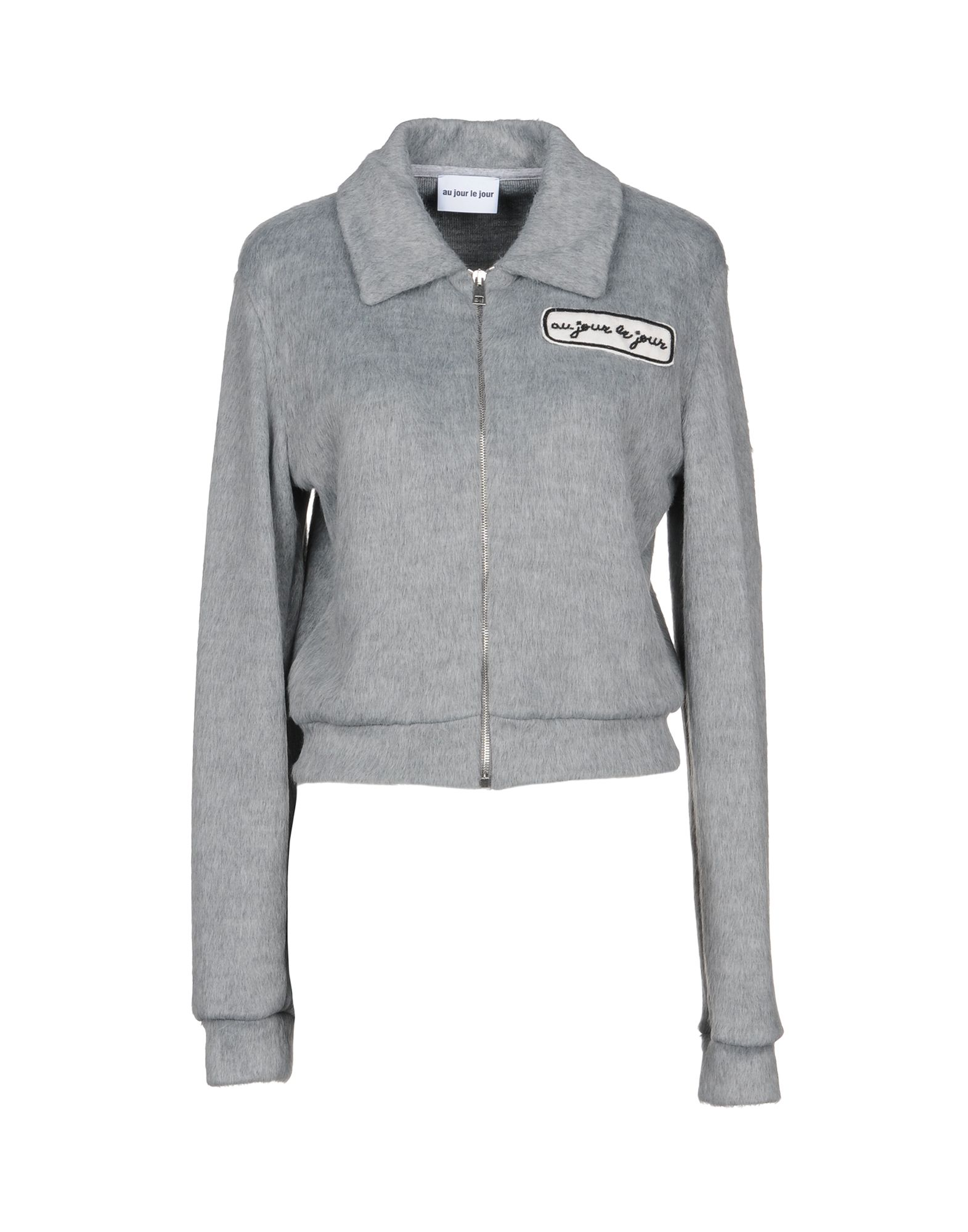 AU JOUR LE JOUR Jacket in Grey