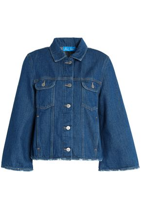M.I.H JEANS Oliver distressed denim jacket