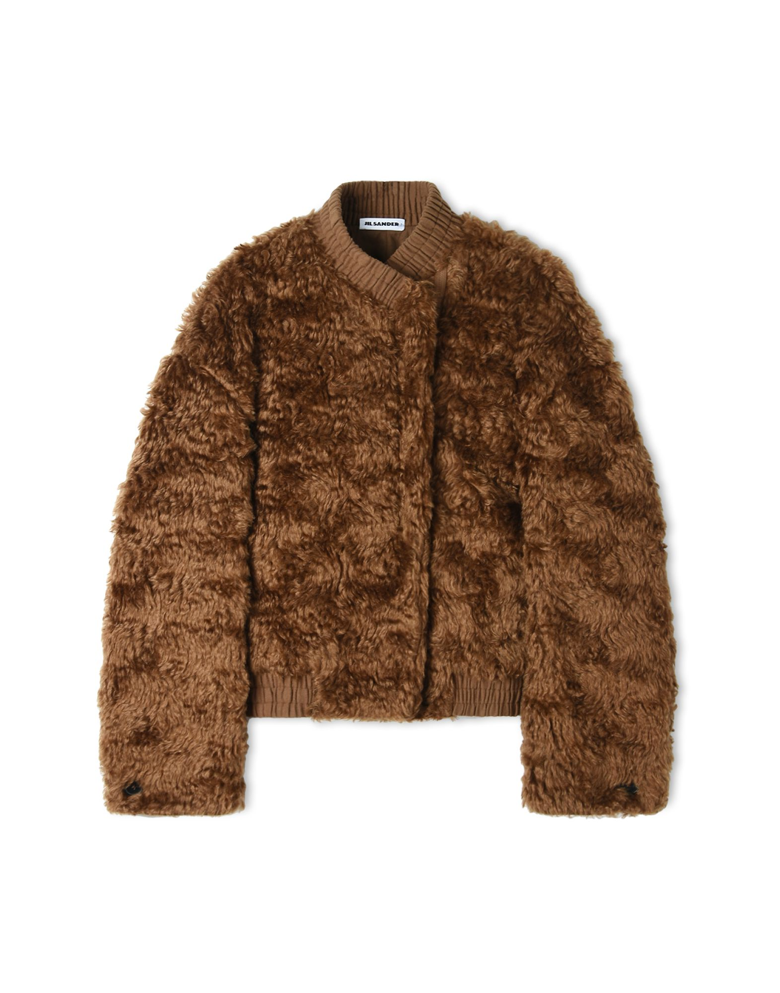 Mohair And Cotton-Blend Jacket in Camel from Jil Sander