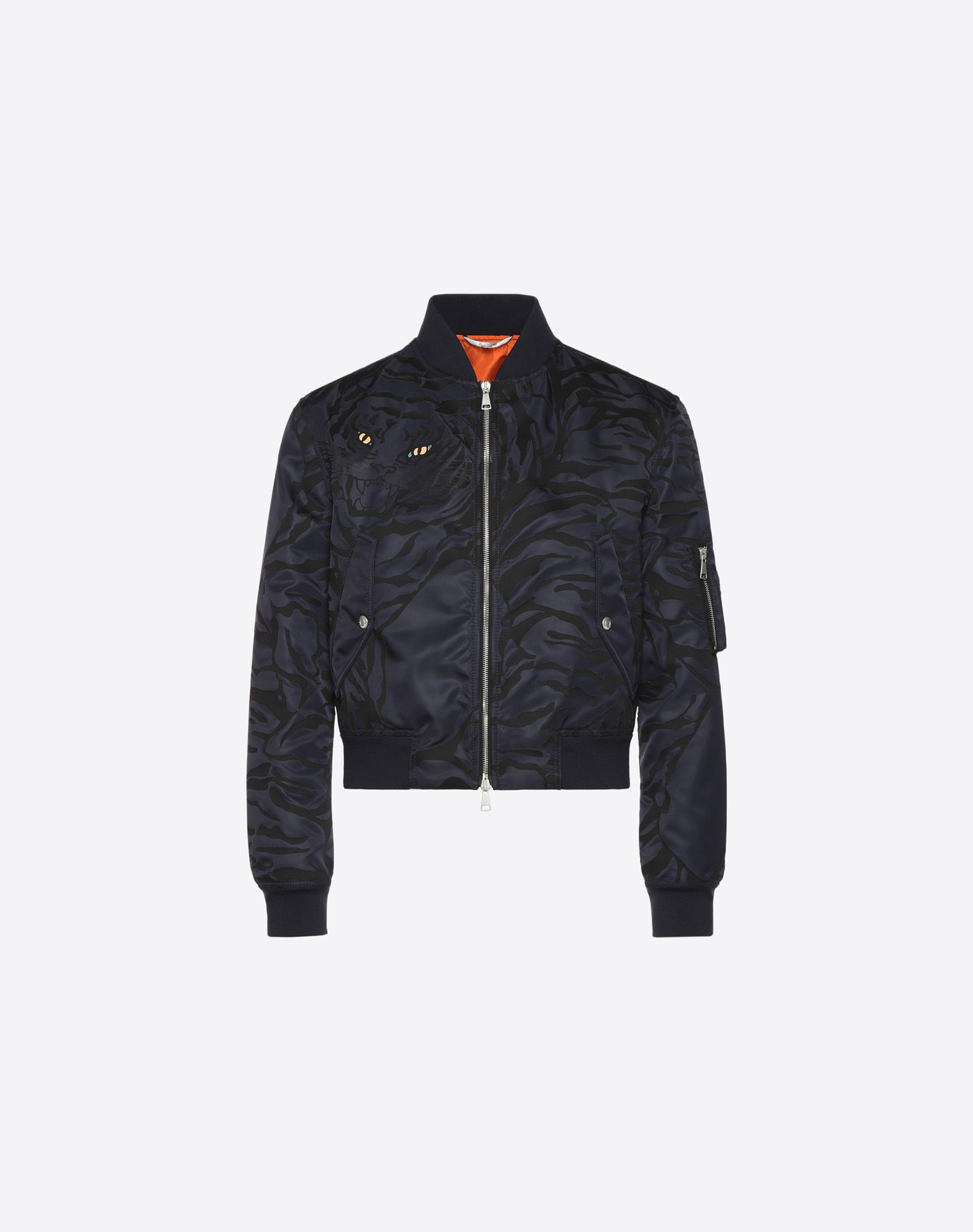 BLOUSON WITH HEAT-SEALED TIGER