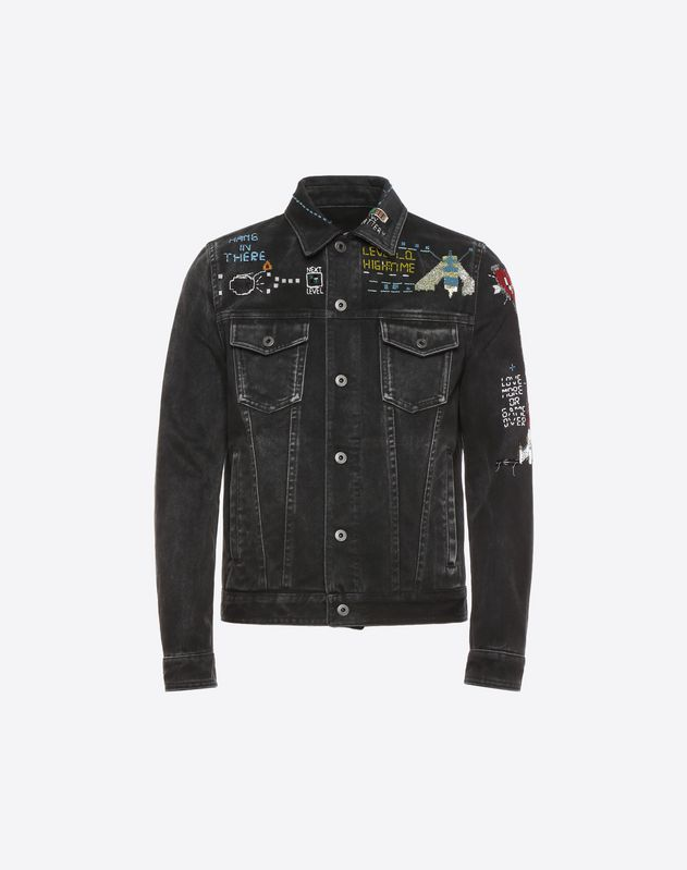 Videogames Arcade denim jacket