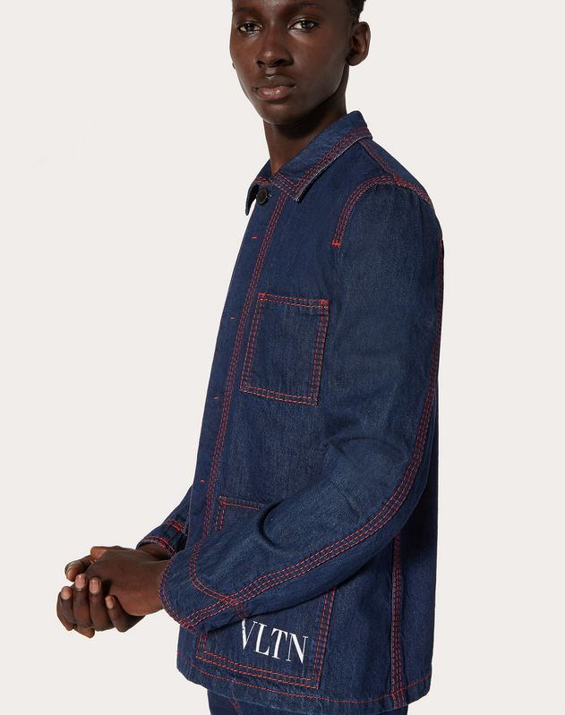 VLTN denim jacket