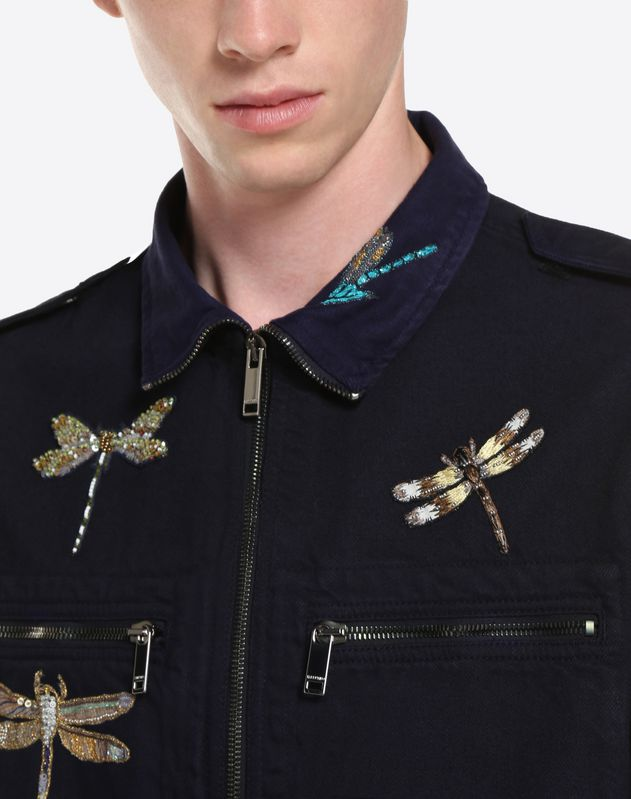 Dragonfly shirt jacket