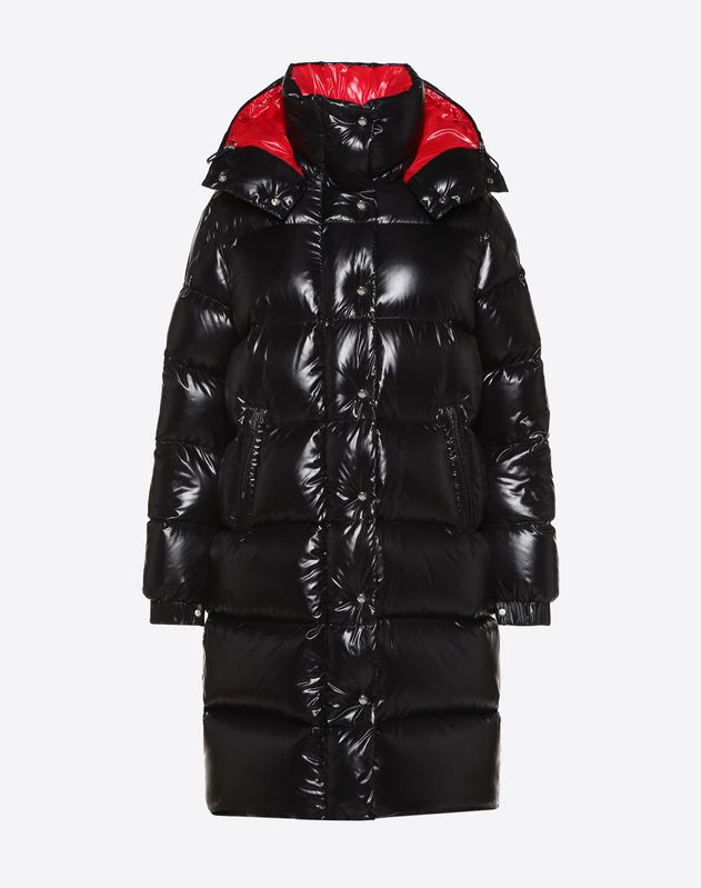 dcf7b0c90 MONCLER VLTN QUILTED DOWN COAT for Woman | Valentino Online Boutique