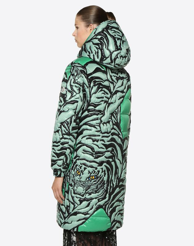 TIGER RE-EDITION EMBROIDERED DOWN COAT
