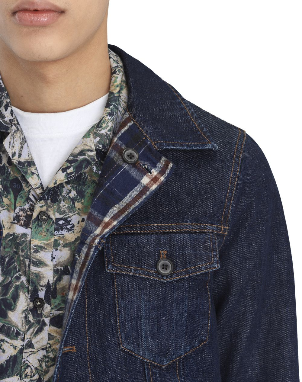 REVERSIBLE TRUCKER JACKET - Lanvin