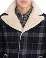 LANVIN Outerwear Man FUR-LINED WOOL COAT f