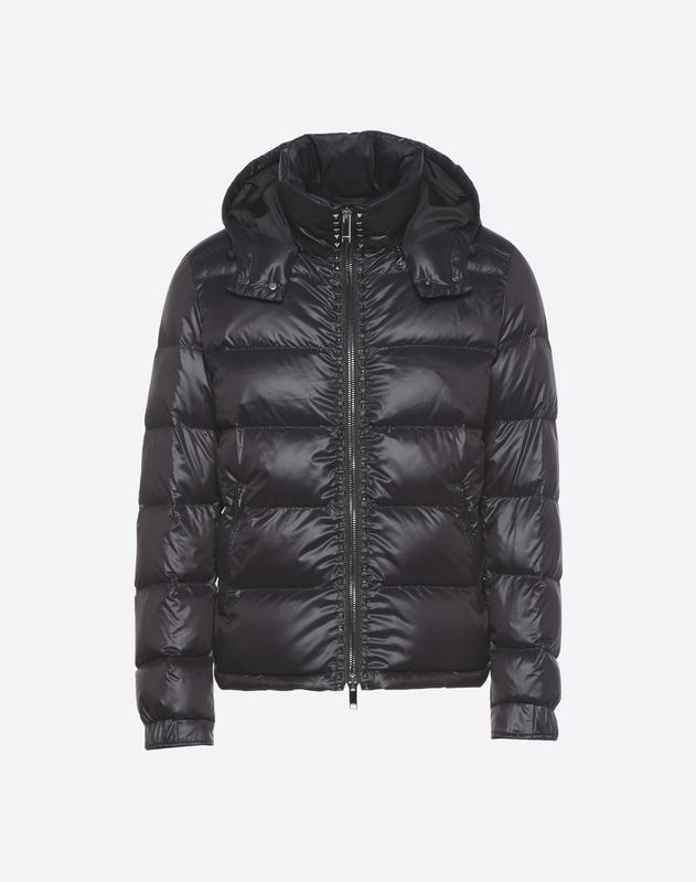 Rockstud Untitled down coat