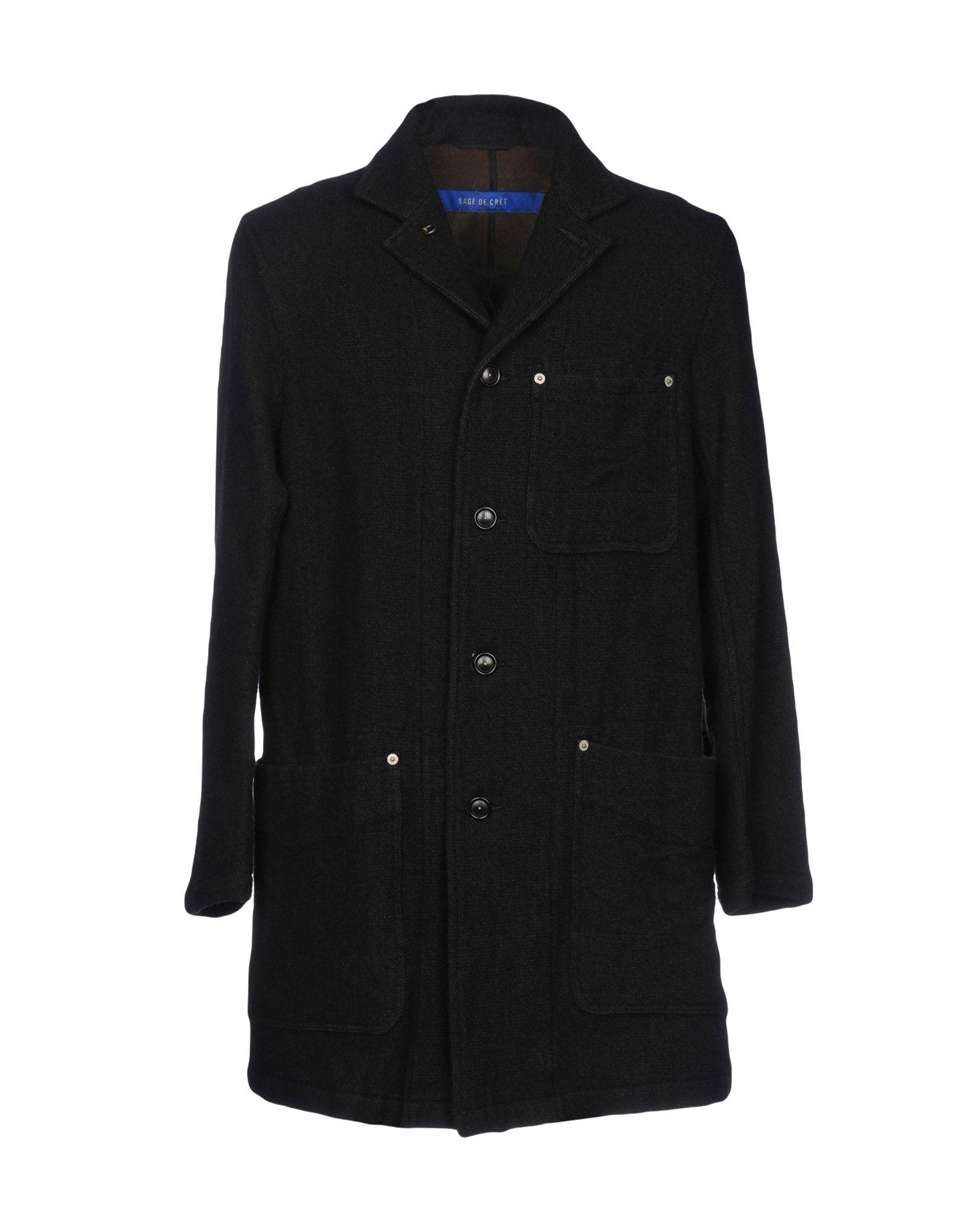 SAGE DE CRÊT Пальто sage de crêt пиджак