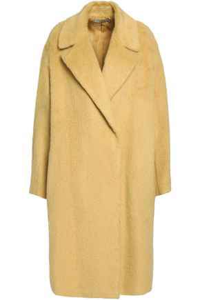 VINCE. Brushed alpaca and wool-blend coat