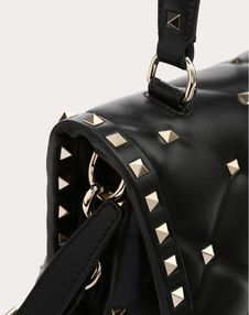Medium Candystud top-handle bag