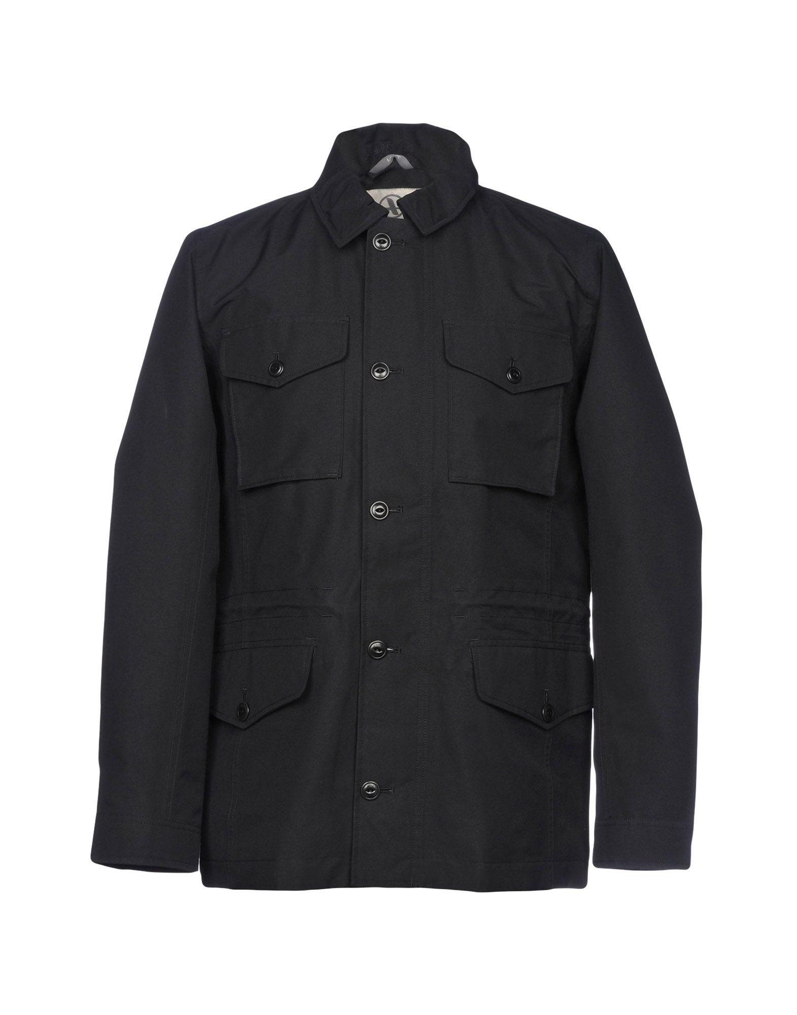 AIGLE Overcoats in Black