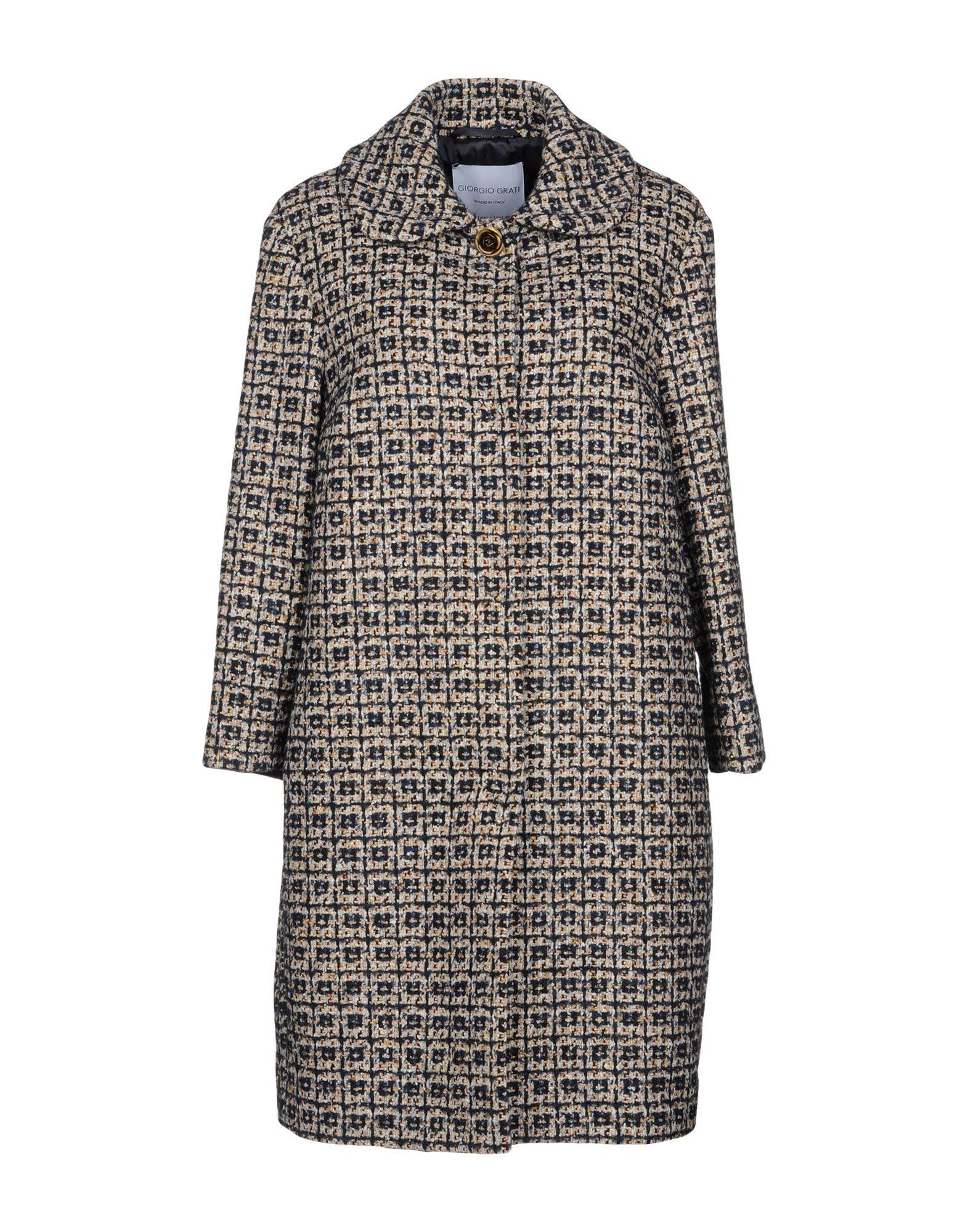 GIORGIO GRATI Легкое пальто giorgio grati юбка длиной 3 4