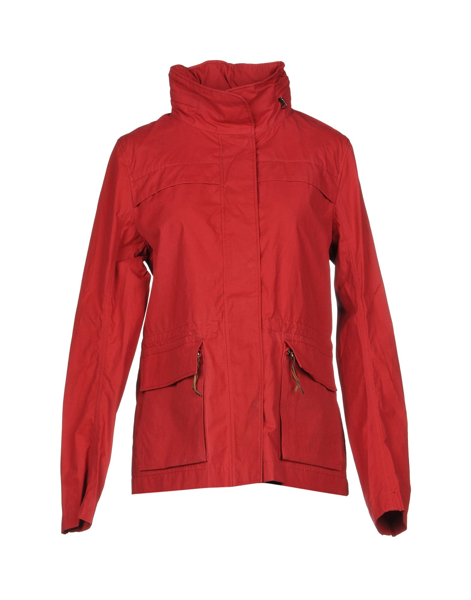 AIGLE Jacket in Red