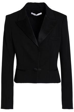 OSCAR DE LA RENTA Stretch-wool twill blazer