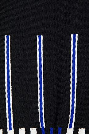 ROLAND MOURET Jacquard-knit jacket