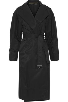 ROLAND MOURET Cotton-blend twill trench coat
