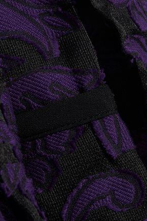 ROLAND MOURET Fil coupé cotton and silk-blend trench coat