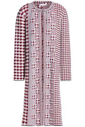 OSCAR DE LA RENTA Wool-jacquard coat