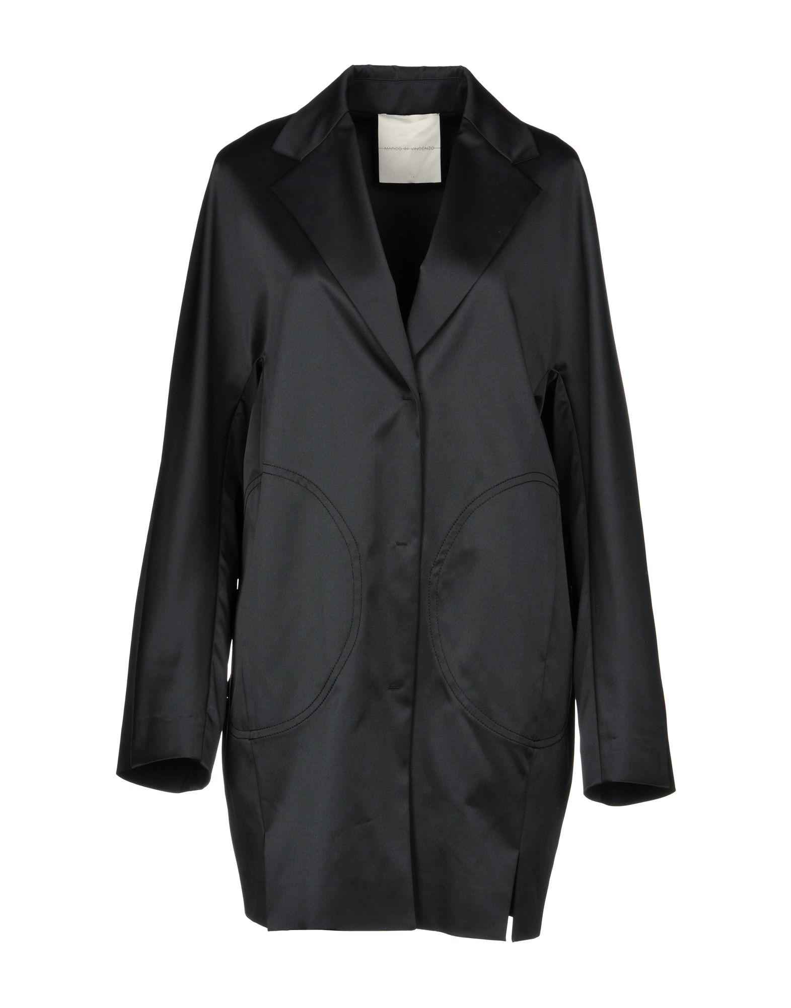 MARCO DE VINCENZO Легкое пальто gian marco venturi одежда 81g01