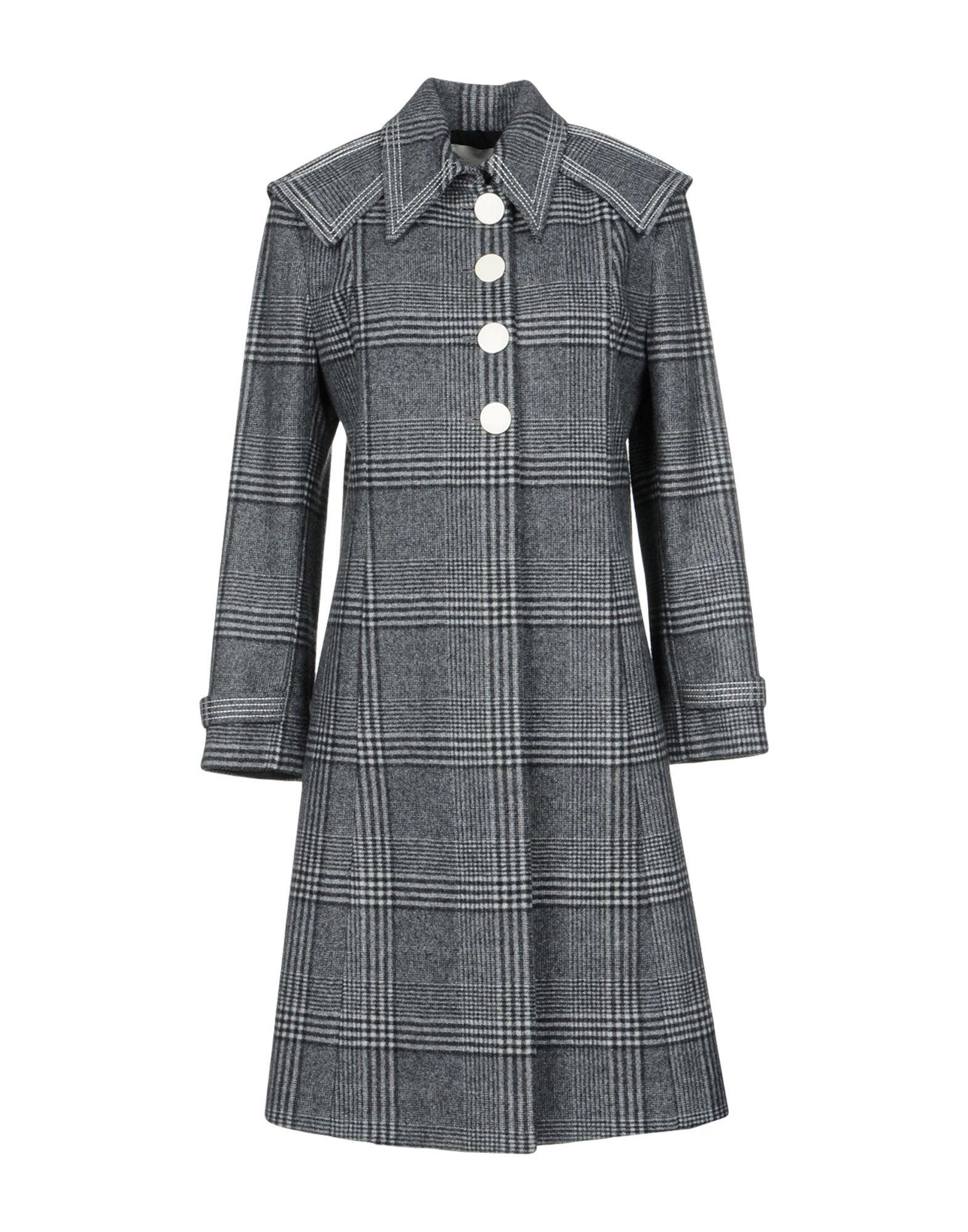 MARCO DE VINCENZO Пальто gian marco venturi одежда 81g01
