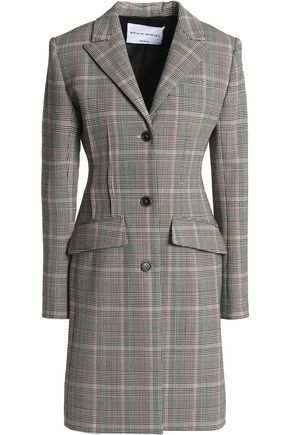 SONIA RYKIEL Checked wool-blend coat