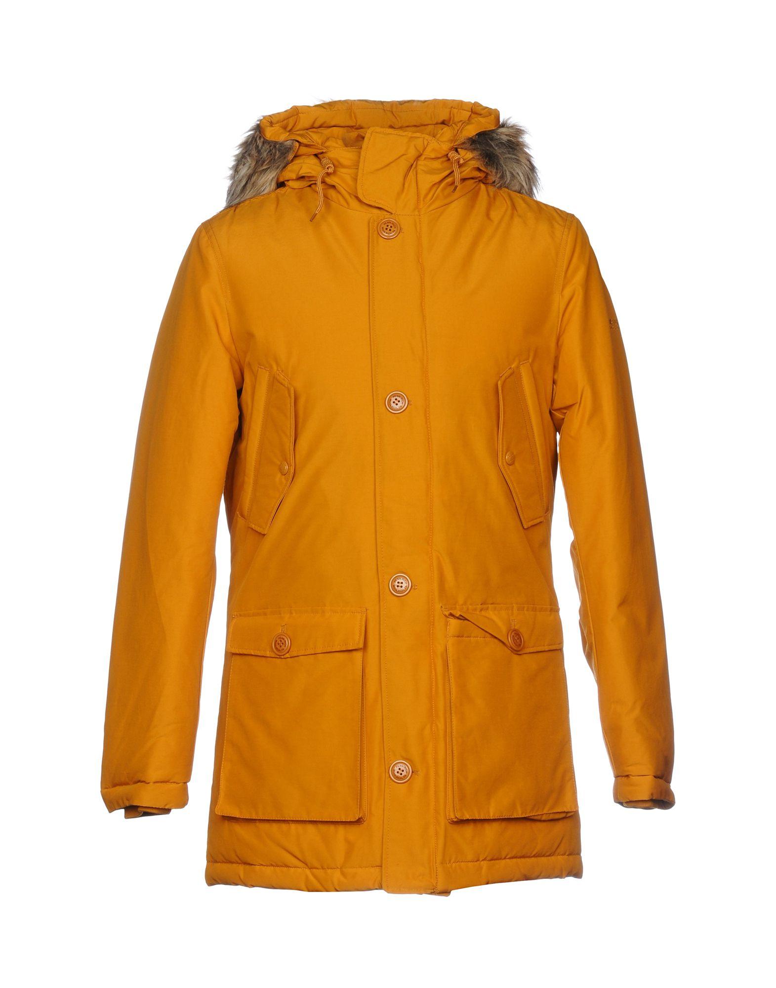 PENN-RICH WOOLRICH (PA) Куртка woolrich красная хлопковая парка с мехом