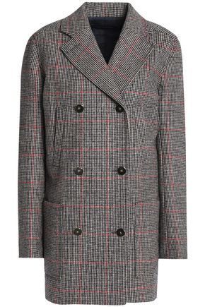 VANESSA SEWARD Double-breasted checked wool jacket