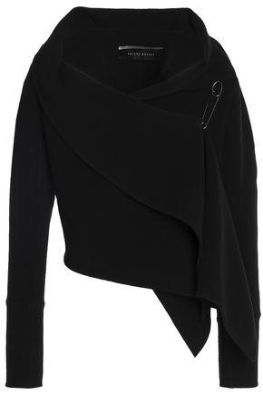 ROLAND MOURET Embellished stretch wool-crepe jacket