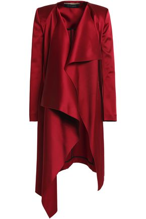 ROLAND MOURET Draped satin-crepe jacket