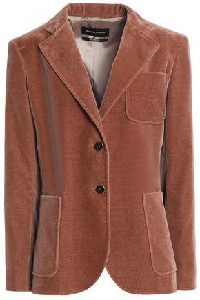 VANESSA SEWARD Cotton-blend velvet blazer