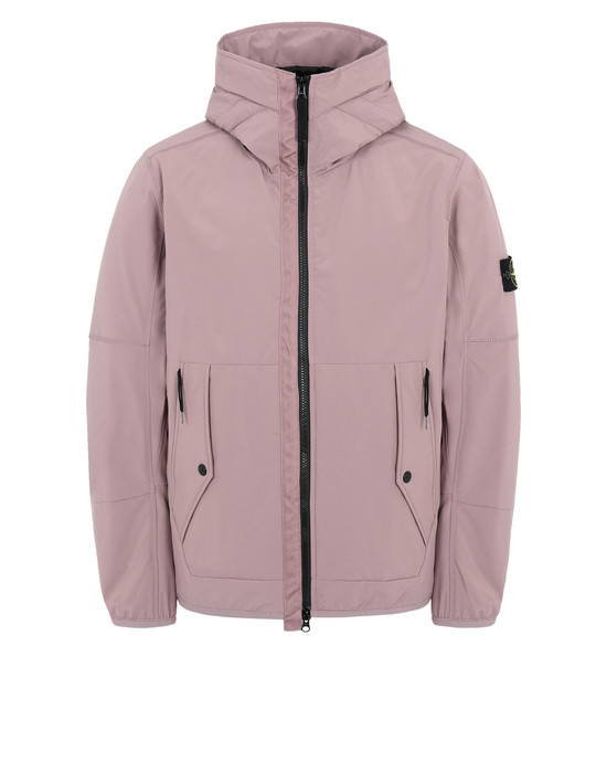 Jacket 41027 SOFT SHELL-R WITH PRIMALOFT® INSULATION TECHNOLOGY STONE ISLAND - 0