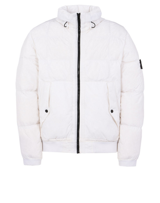 Down jacket 40423 GARMENT-DYED MICRO YARN DOWN STONE ISLAND - 0