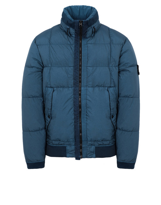 STONE ISLAND Down jacket 40423 GARMENT DYED CRINKLE REPS NY DOWN