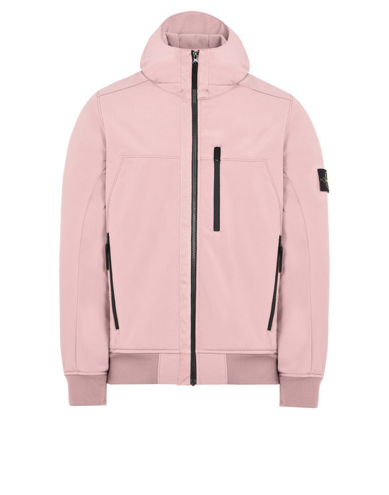 STONE ISLAND LIGHTWEIGHT JACKET Q0522 SOFT SHELL-R