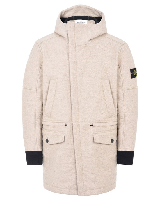 STONE ISLAND LONG JACKET 40632 PANNO-R 4L STRETCH