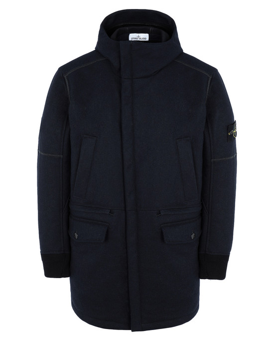LONG JACKET 40632 PANNO-R 4L STRETCH STONE ISLAND - 0