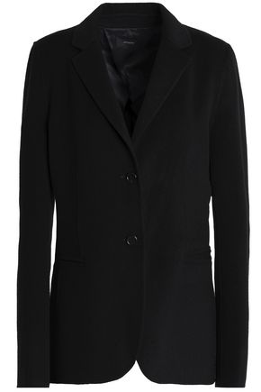 JOSEPH Mélange brushed wool and cashmere-blend blazer