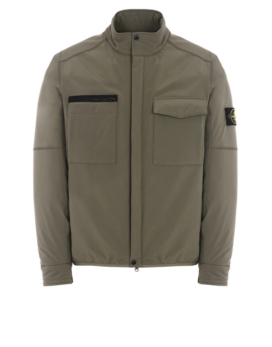 STONE ISLAND 休闲夹克 41127 SOFT SHELL-R WITH PRIMALOFT® INSULATION TECHNOLOGY