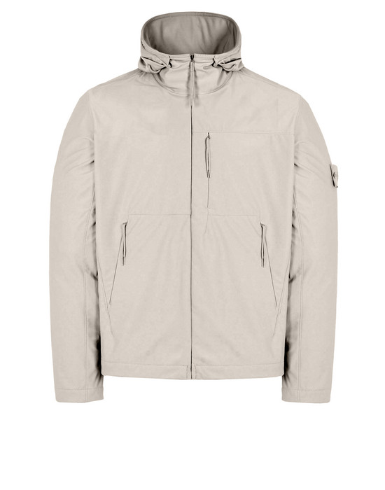 STONE ISLAND LIGHTWEIGHT JACKET Q13F2 GHOST PIECE_NYLON COTTON 3L