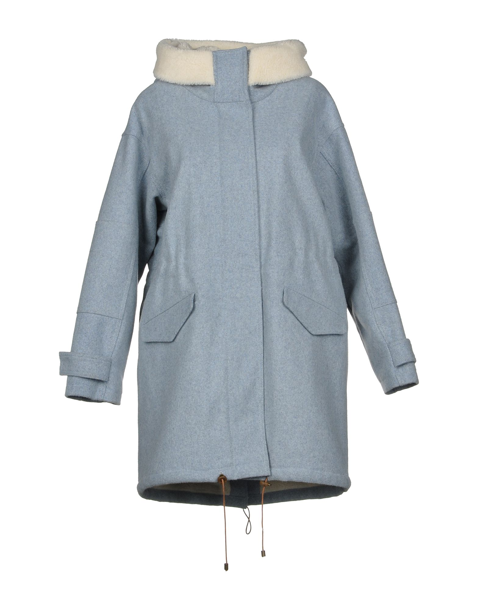 SESSUN Coat in Grey