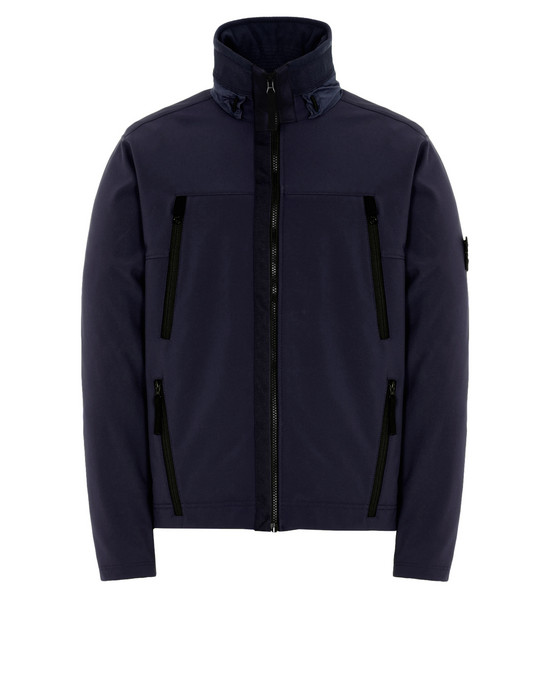 LIGHTWEIGHT JACKET Q0722 SOFT SHELL-R STONE ISLAND - 0