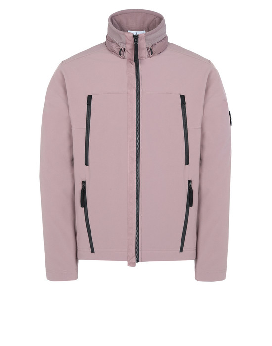 STONE ISLAND LIGHTWEIGHT JACKET Q0722 SOFT SHELL-R