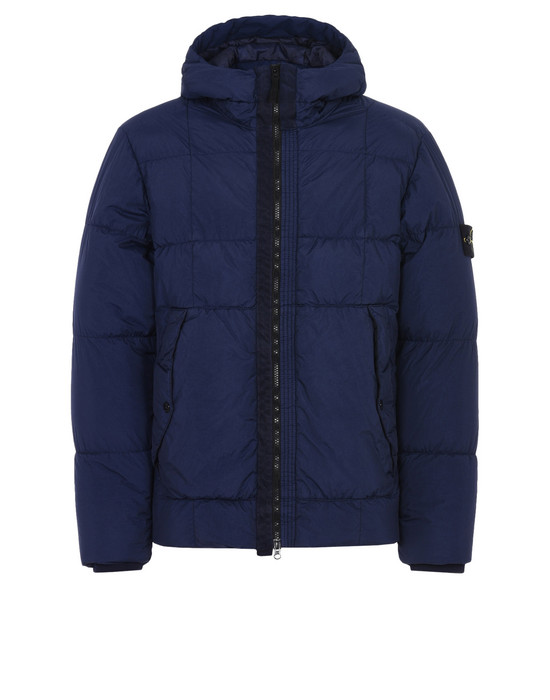 Down jacket 41223 GARMENT-DYED CRINKLE REPS NY DOWN STONE ISLAND - 0