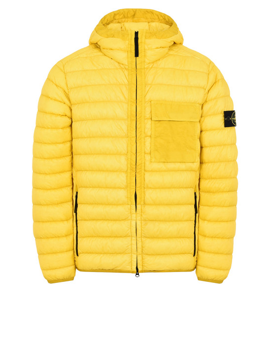 STONE ISLAND Пуховик 40524 GARMENT-DYED MICRO YARN DOWN
