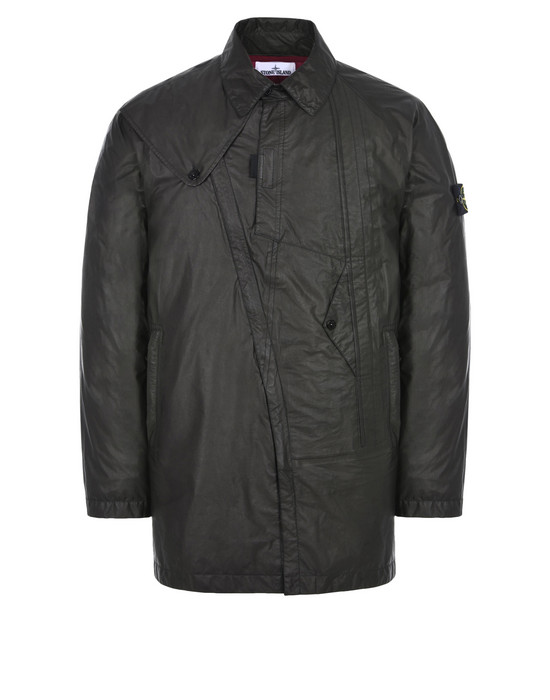 LONG JACKET 435Y1 PERMANENT WATER REPELLER GORE-TEX® PRODUCTS WITH SHAKEDRY™ PRODUCT TECHNOLOGY  STONE ISLAND - 0