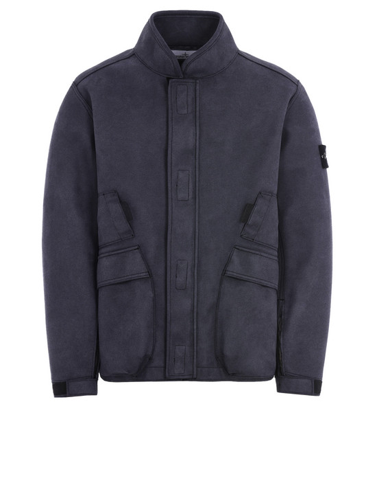 STONE ISLAND Giubbotto 44029 MAN MADE SUEDE